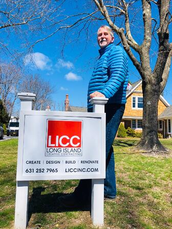 John Petsco-president Long Island Creative Contracting