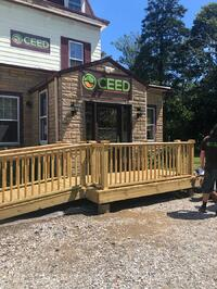 New ramp for Ceeds front entrance , Brookhave, NY